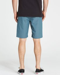4 Crossfire X Twill Submersibles Shorts Blue M204NBCT Billabong
