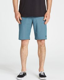 3 Crossfire X Twill Submersibles Shorts Blue M204NBCT Billabong