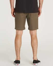 2 Outsider X Surf Corduroy Submersible Shorts Brown M210JPCS Billabong