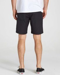 7 Surftrek Nylon Shorts Black M217NBSN Billabong