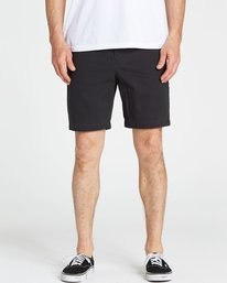 3 New Order Shorts Grey M233NBNE Billabong