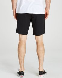 5 LARRY STRETCH ELASTI Black M244QBLS Billabong