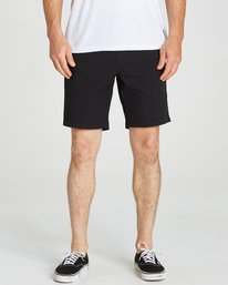 4 LARRY STRETCH ELASTI Black M244QBLS Billabong