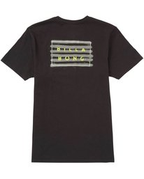 1 Die Cut Fill Tee Black M401NBDC Billabong