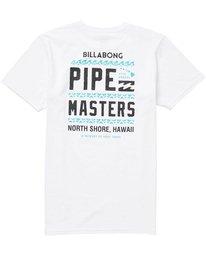 1 Pipe Masters Tee White M401NBPM Billabong
