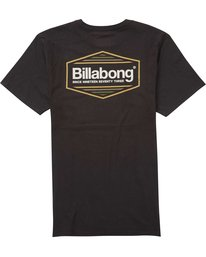 1 Pacific Tee Black M401QBPA Billabong
