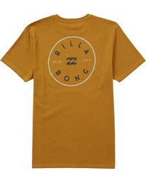 1 Rotor Tee Yellow M401QBRO Billabong