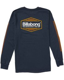 2 Pacific Long Sleeve Tee  M402NBPA Billabong