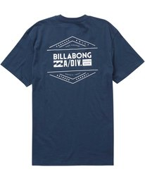 1 A Div Access Tee Blue M404PBAA Billabong