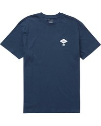 0 A Div Access Tee Blue M404PBAA Billabong