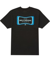 1 Pulse Tee Black M404QBPL Billabong