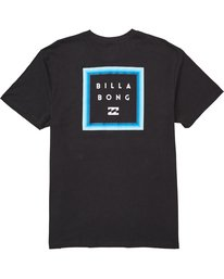 1 Stacked Fade Tee Black M404QBSF Billabong