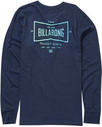 1 Craftsman Long Sleeve Tee  M405NBCR Billabong