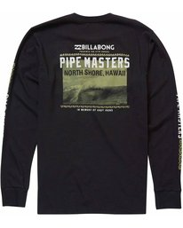 1 Pipe Masters Poster Long Sleeve Tee  M405NBPP Billabong