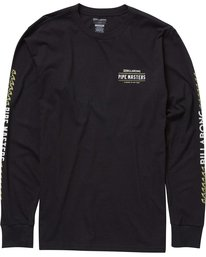 0 Pipe Masters Poster Long Sleeve Tee  M405NBPP Billabong