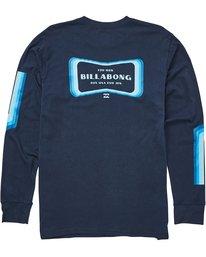 1 Pulse Long Sleeve Tee Blue M405QBPU Billabong