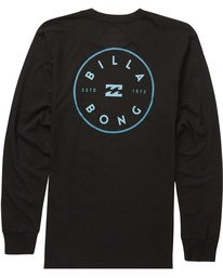 1 Rotor Long Sleeve Tee Black M405QBRO Billabong