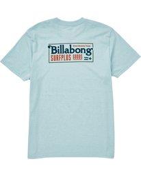 1 Bullard Tee Blue M406QBBU Billabong