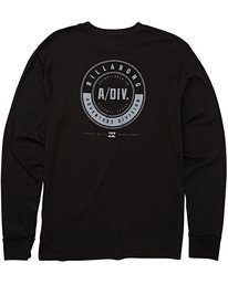 1 Tail Long Sleeve Tee Black M415QBTA Billabong