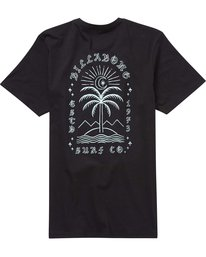 1 East Star Tee Black M431PBEA Billabong