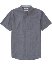 ALL DAY CHAMBRAY SS  M502GALL