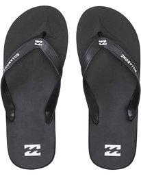 0 All Day Solid Sandals Black MAFTAALD Billabong
