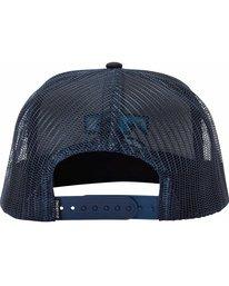 3 All Day Trucker Hat Blue MAHTJADT Billabong