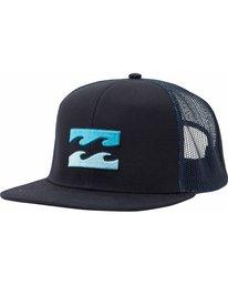 0 All Day Trucker Hat Blue MAHTJADT Billabong