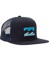 2 All Day Trucker Hat Blue MAHTJADT Billabong