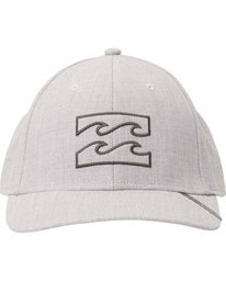 1 All Day Heather Stretch Fit Hat Grey MAHTLADH Billabong