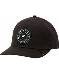 0 Rotor Stretch Hat Black MAHTMROS Billabong