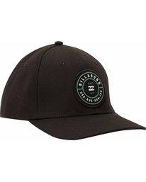 2 Rotor Stretch Hat Black MAHTMROS Billabong
