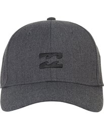 1 All Day Heather Stretch Fit Hat Grey MAHWNBAH Billabong
