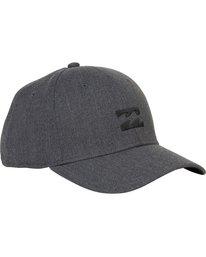 2 All Day Heather Stretch Fit Hat Grey MAHWNBAH Billabong