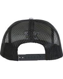 3 All Day Trucker Hat Grey MAHWNBAR Billabong