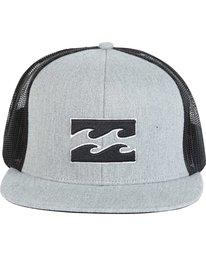 1 All Day Trucker Hat Grey MAHWNBAR Billabong