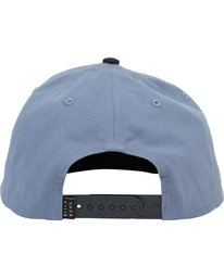 3 STACKED SNAPBACK Blue MAHWNBAS Billabong