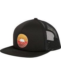 0 California Trucker Hat Black MAHWNBCA Billabong