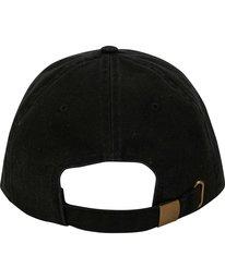 3 Die Cut Lad Hat Black MAHWNBDC Billabong