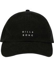 1 Die Cut Lad Hat Black MAHWNBDC Billabong