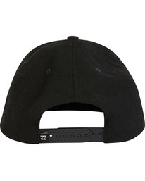 3 OXFORD SNAPBACK Black MAHWNBOX Billabong
