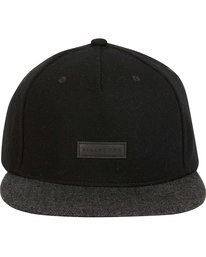 1 OXFORD SNAPBACK Black MAHWNBOX Billabong