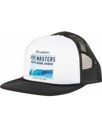 0 Pipe Masters Poster Trucker Hat  MAHWNBPP Billabong