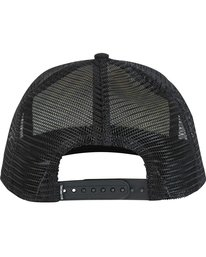 3 Rotor Trucker Hat Black MAHWNBRT Billabong