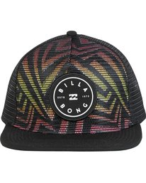 1 Rotor Trucker Hat Black MAHWNBRT Billabong