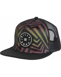 0 Rotor Trucker Hat Black MAHWNBRT Billabong