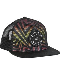 2 Rotor Trucker Hat Black MAHWNBRT Billabong