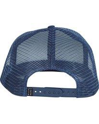 3 Upgrade Trucker Hat Blue MAHWNBUP Billabong