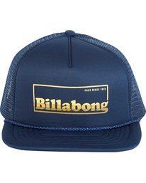 1 Upgrade Trucker Hat Blue MAHWNBUP Billabong