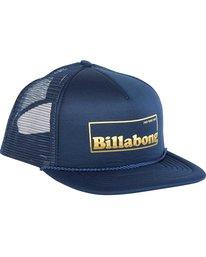 2 Upgrade Trucker Hat Blue MAHWNBUP Billabong